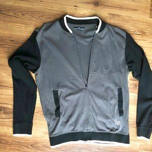 Cardigan Zip Sweatshirt